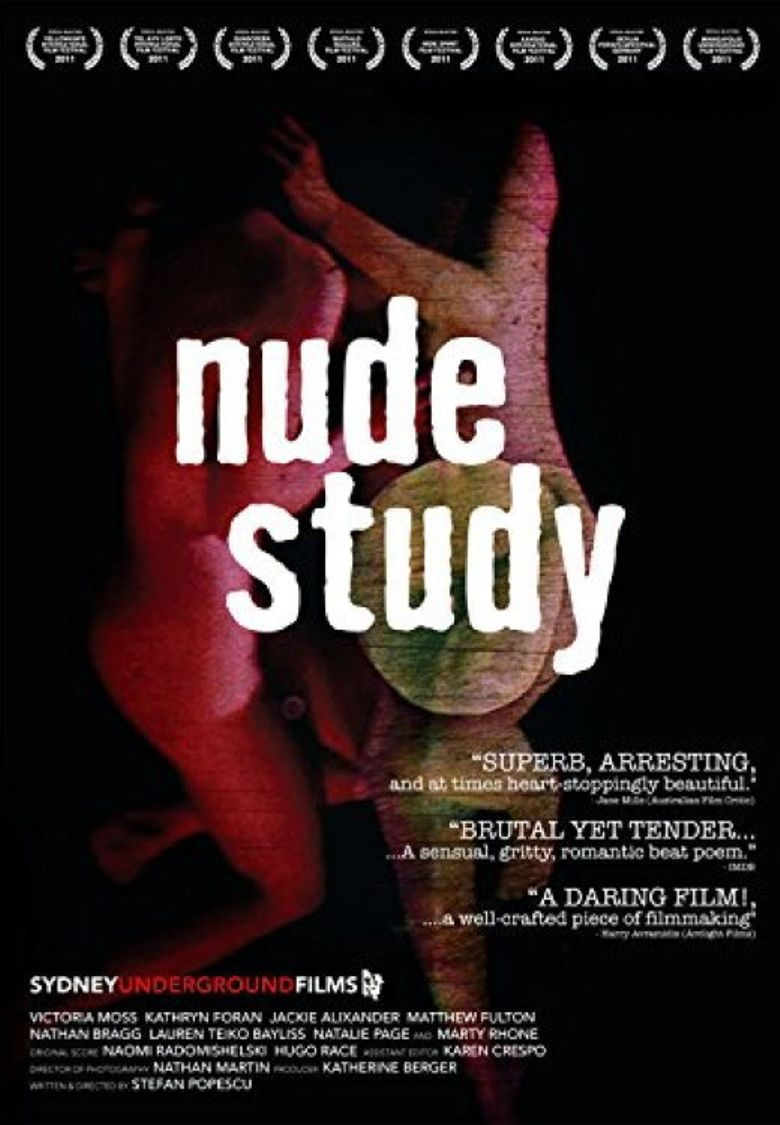 Nude Study Poster