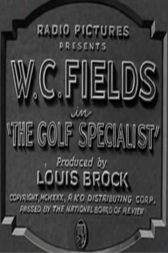 The Golf Specialist Poster