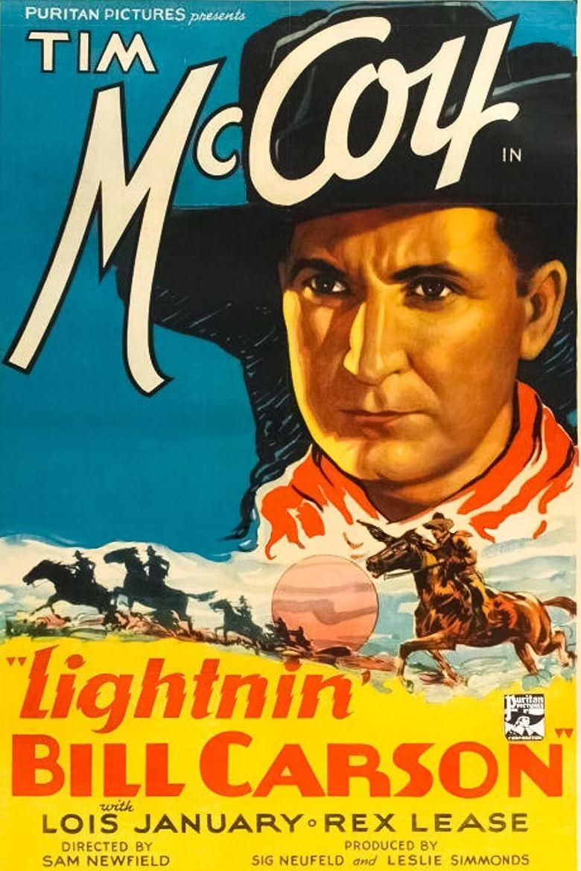 Lightnin' Bill Carson Poster