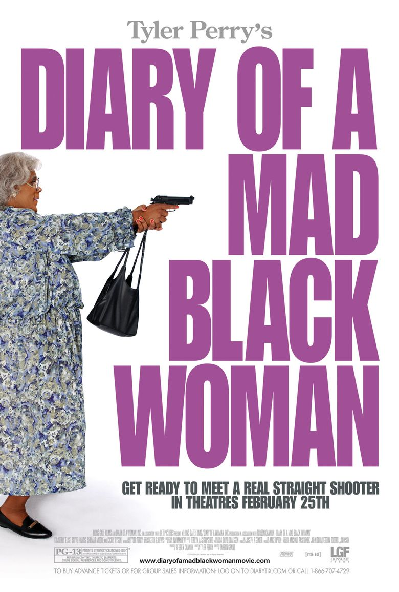 Diary of a Mad Black Woman Poster
