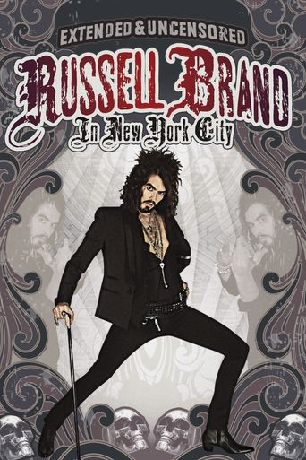 Russell Brand in New York City Poster