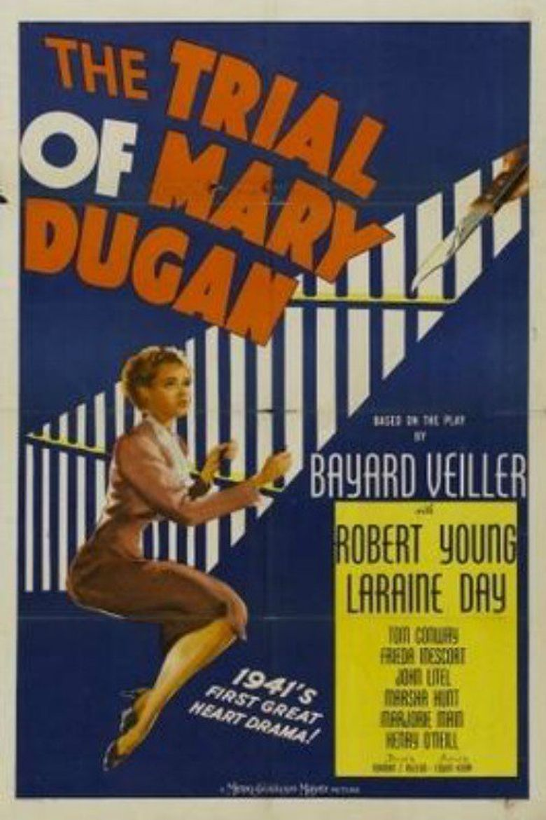 The Trial of Mary Dugan Poster