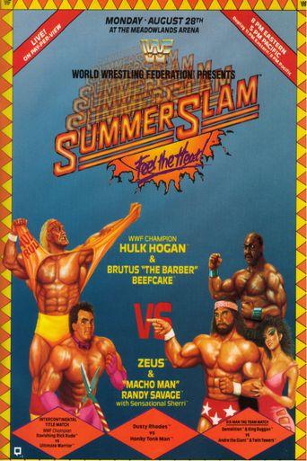 WWE SummerSlam 1989 Poster