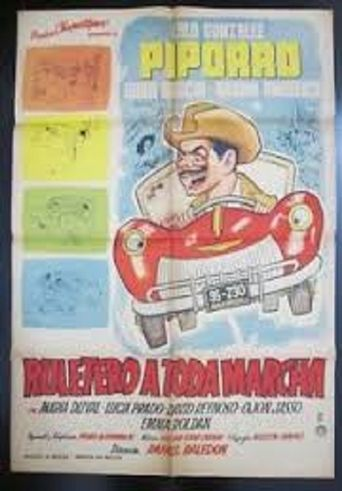 Ruletero a toda marcha Poster