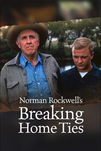 Norman Rockwell's: Breaking Home Ties Poster