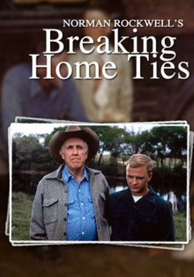Norman Rockwell's: Breaking Home Ties Poster