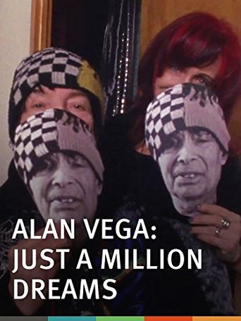 Alan Vega: Just a Million Dreams Poster