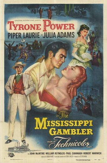 The Mississippi Gambler Poster