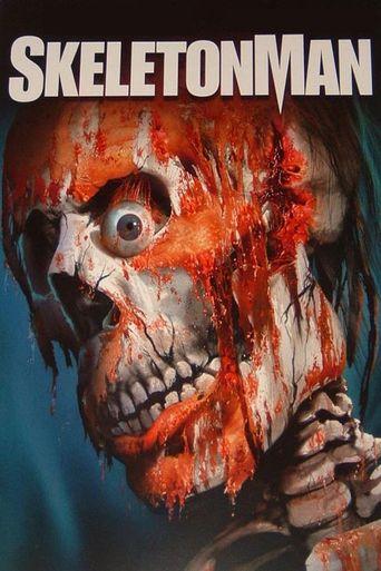 Skeleton Man Poster