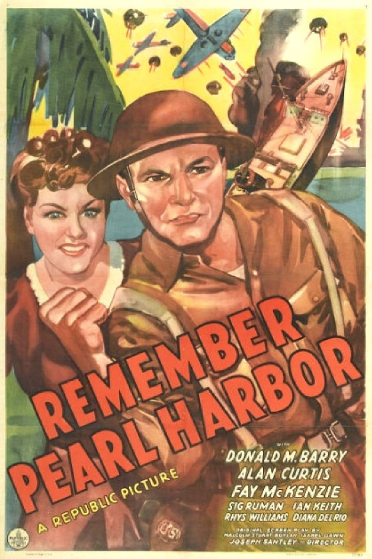 Remember Pearl Harbor Poster