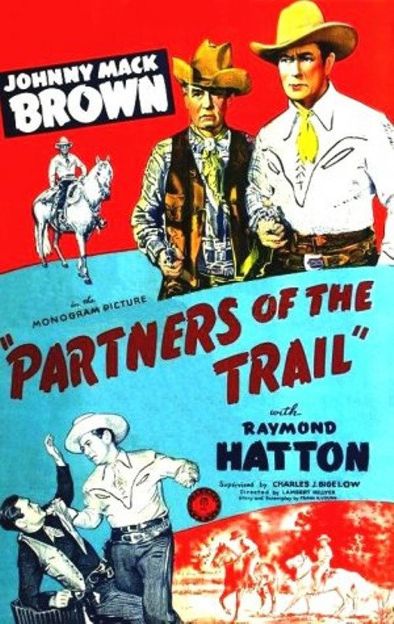 Partners of the Trail Poster