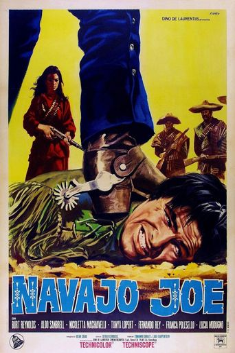 Navajo Joe Poster