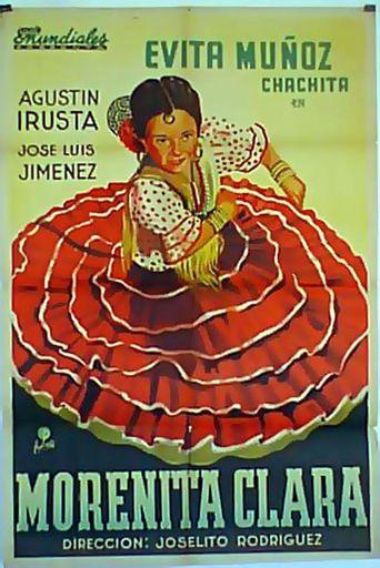 Morenita clara Poster