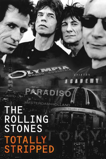 The Rolling Stones - Totally Stripped Poster