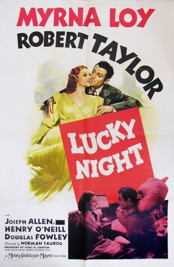 Lucky Night Poster