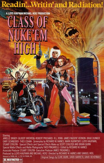 Class of Nuke 'Em High Poster