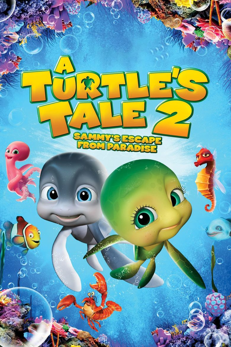 A Turtle's Tale 2: Sammy's Escape from Paradise Poster