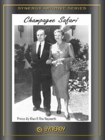 Champagne Safari Poster