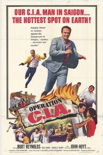 Operation C.I.A. Poster