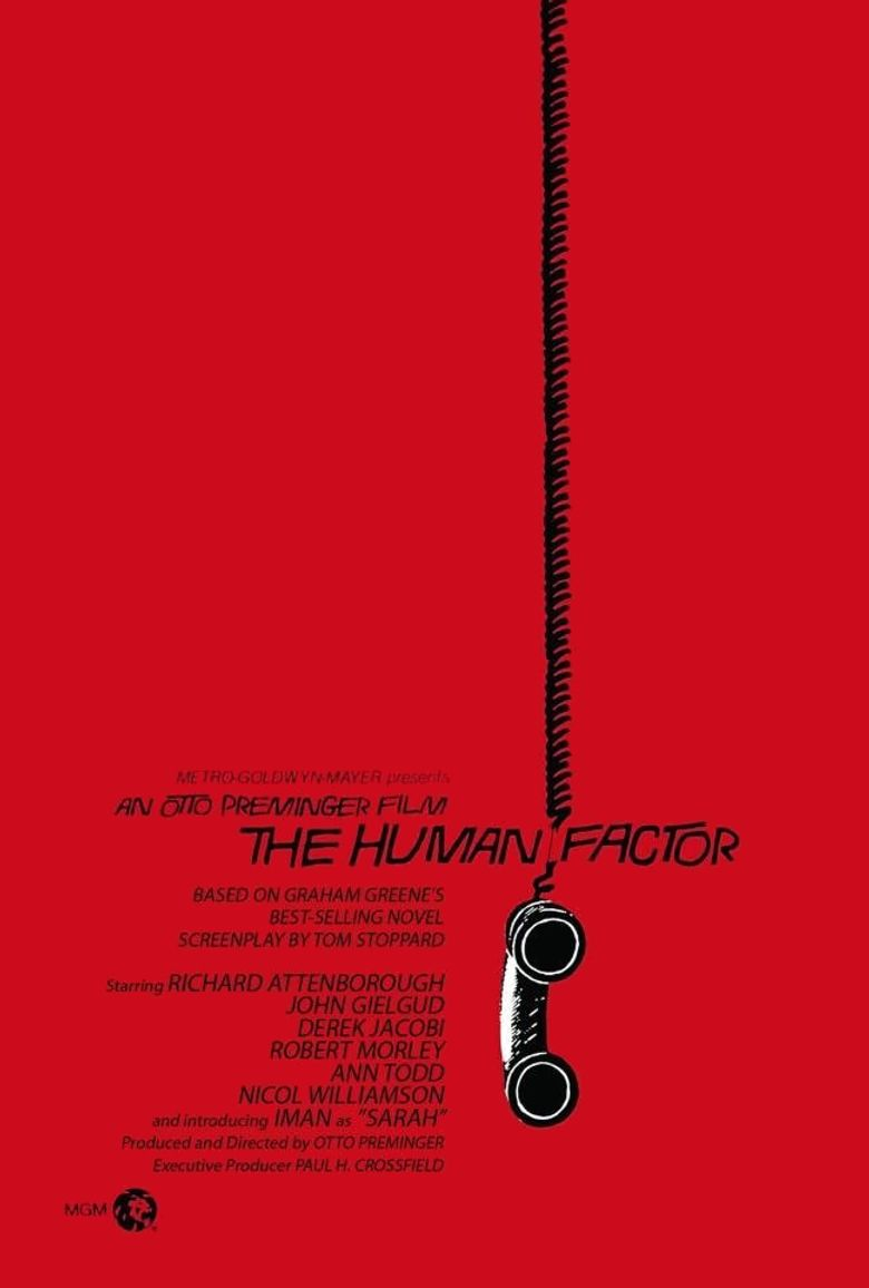 The Human Factor Poster