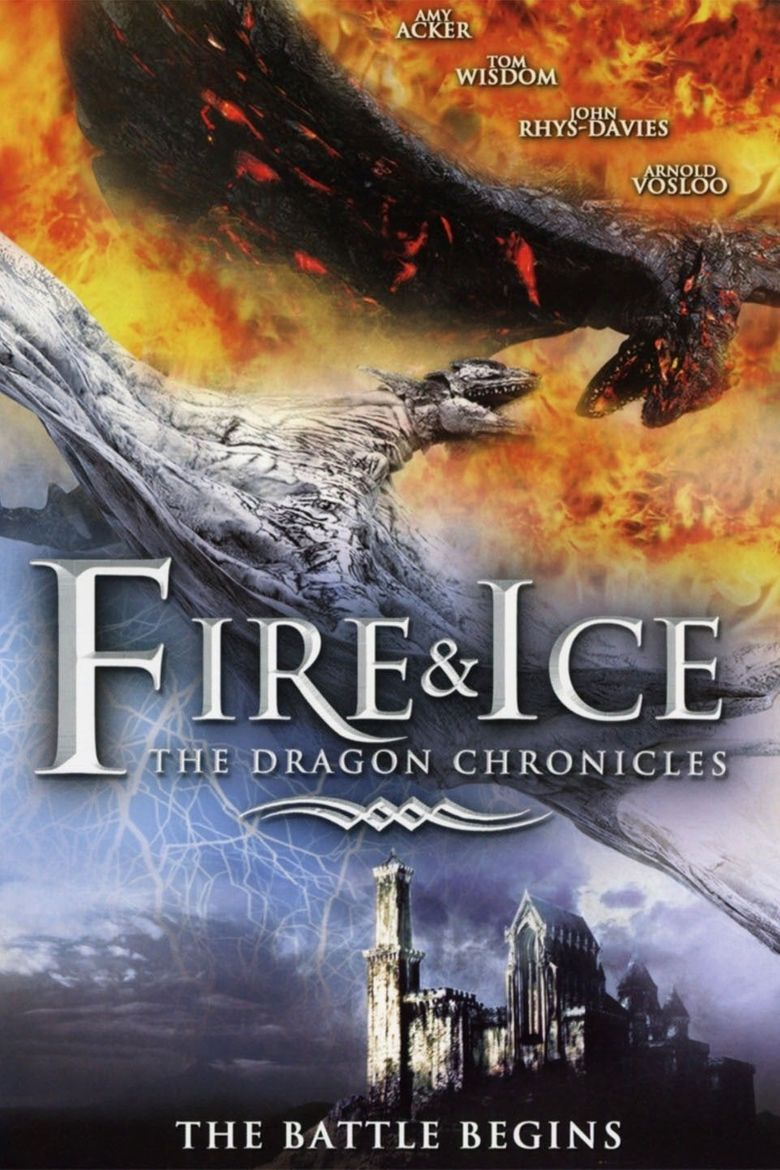 Fire and Ice: The Dragon Chronicles Poster