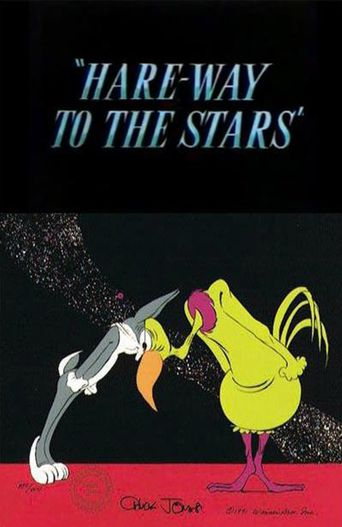 Hare-Way to the Stars Poster