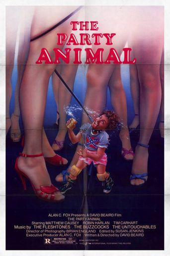 The Party Animal Poster