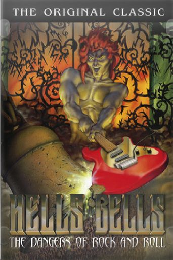 Hell's Bells: The Dangers of Rock 'N' Roll Poster