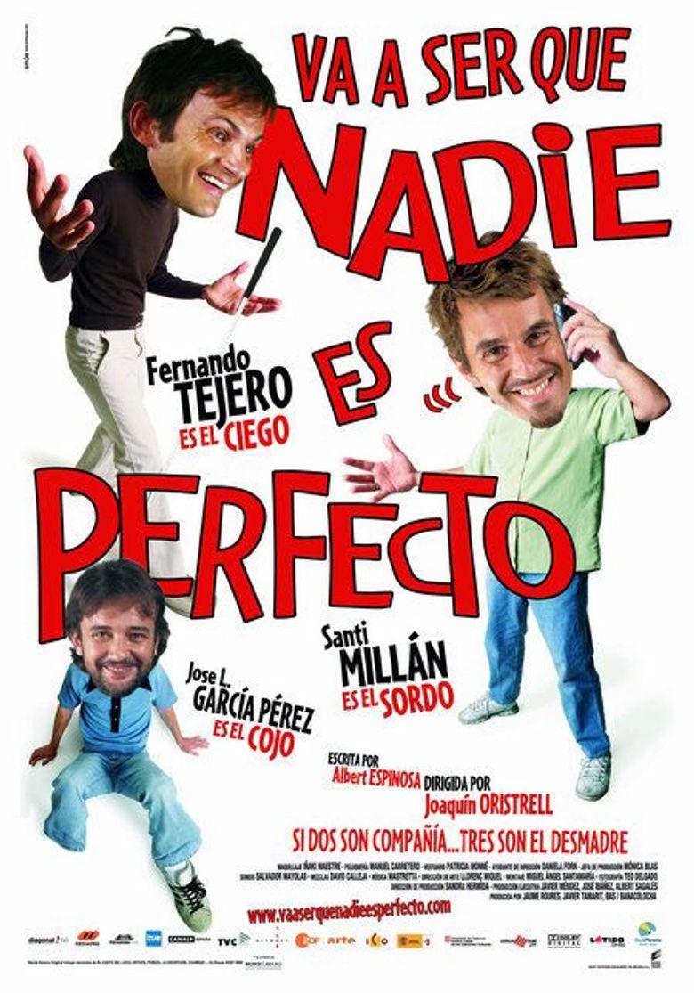 Va a ser que nadie es perfecto Poster