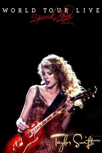 Taylor Swift: Speak Now World Tour Live Poster