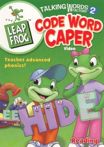 Leap Frog Talking Words Factory 2: Code Word Caper Poster