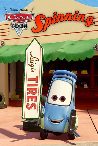 Cars Toons: Tales from Radiator Springs - Spinning Poster