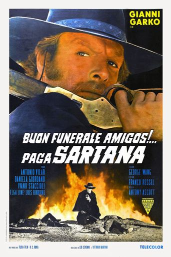 Have a Good Funeral, My Friend… Sartana Will Pay Poster