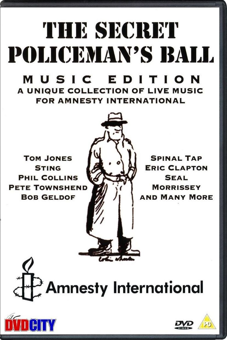 The Secret Policeman's Ball: The Music Edition Poster