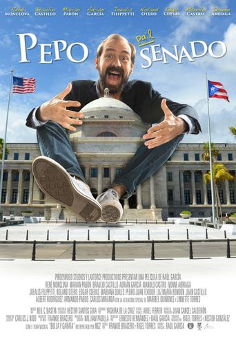 Pepo Pa'l Senado Poster
