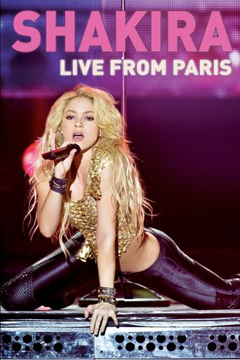 Shakira: Live from Paris Poster