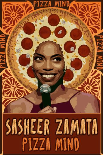 Sasheer Zamata: Pizza Mind Poster