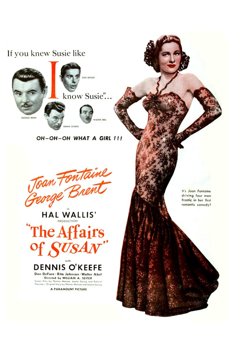 The Affairs of Susan Poster