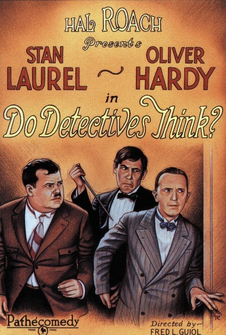 Do Detectives Think? Poster