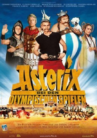 Asterix at the Olympic Games Poster