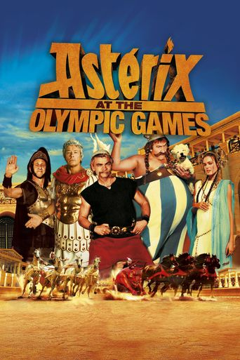 Astérix at the Olympic Games Poster