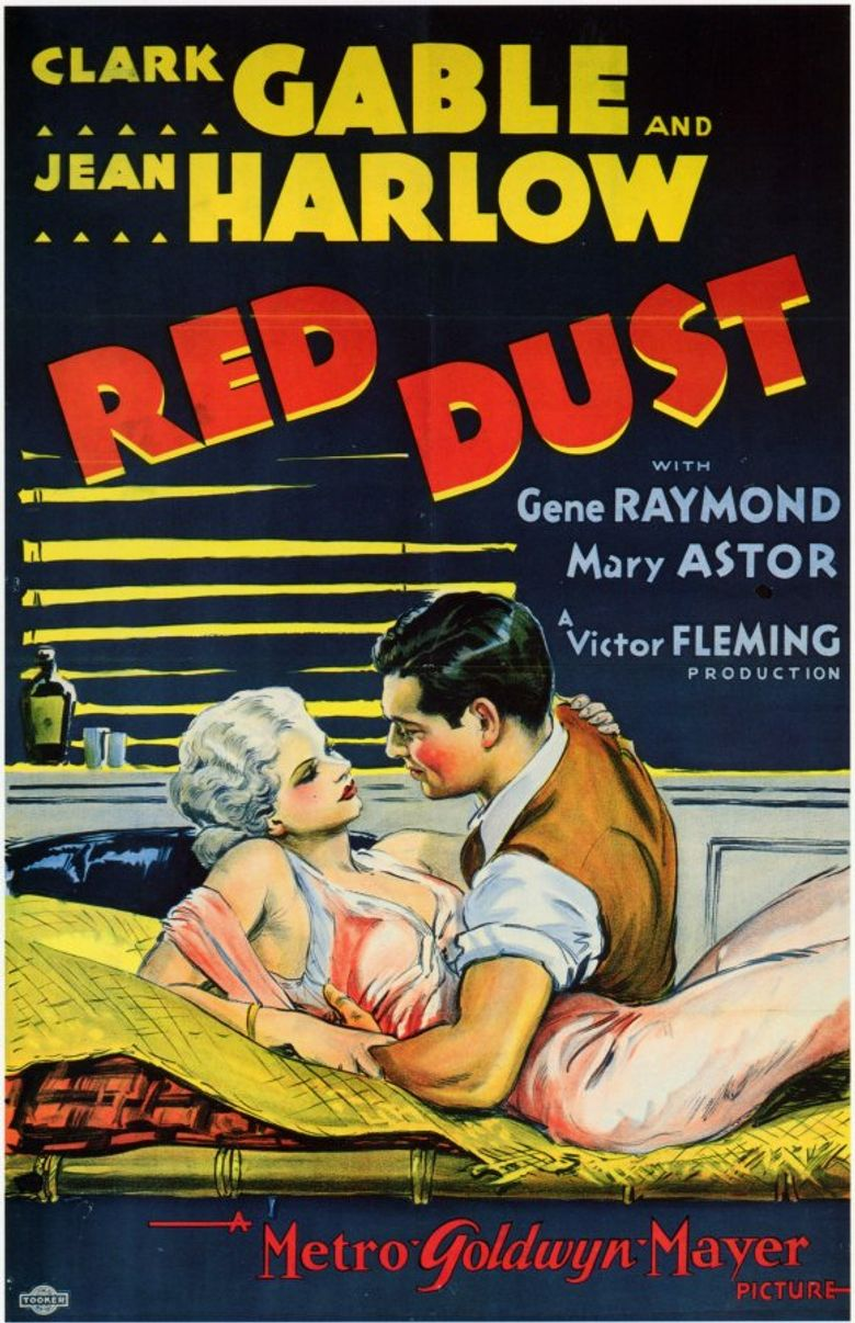 Red Dust Poster