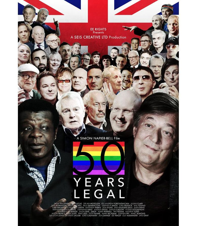 50 Years Legal Poster