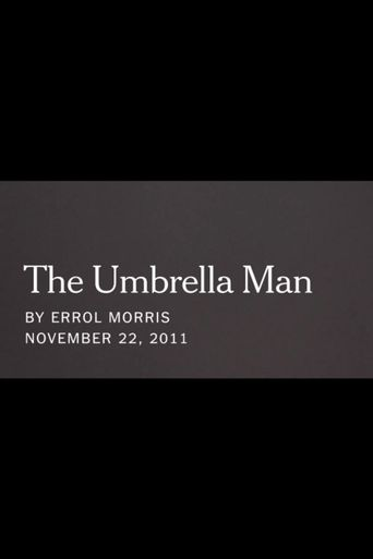 The Umbrella Man Poster