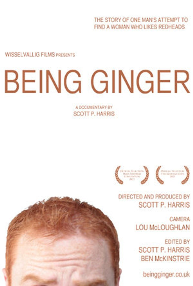 Being Ginger Poster