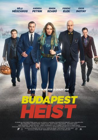 Budapest Heist Poster