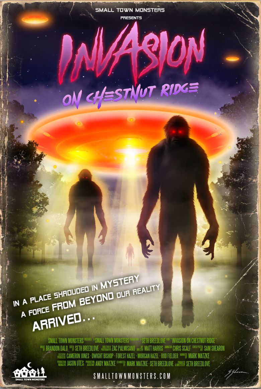 Invasion on Chestnut Ridge Poster