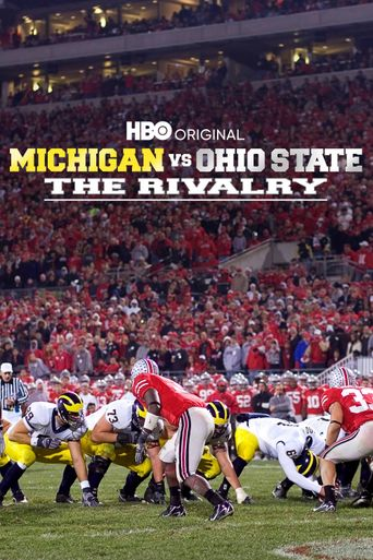 Michigan vs. Ohio State:  The Rivalry Poster
