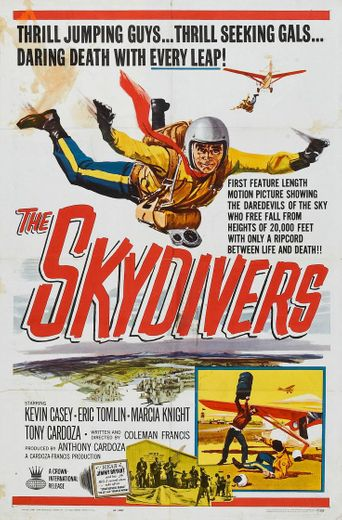 The Skydivers Poster