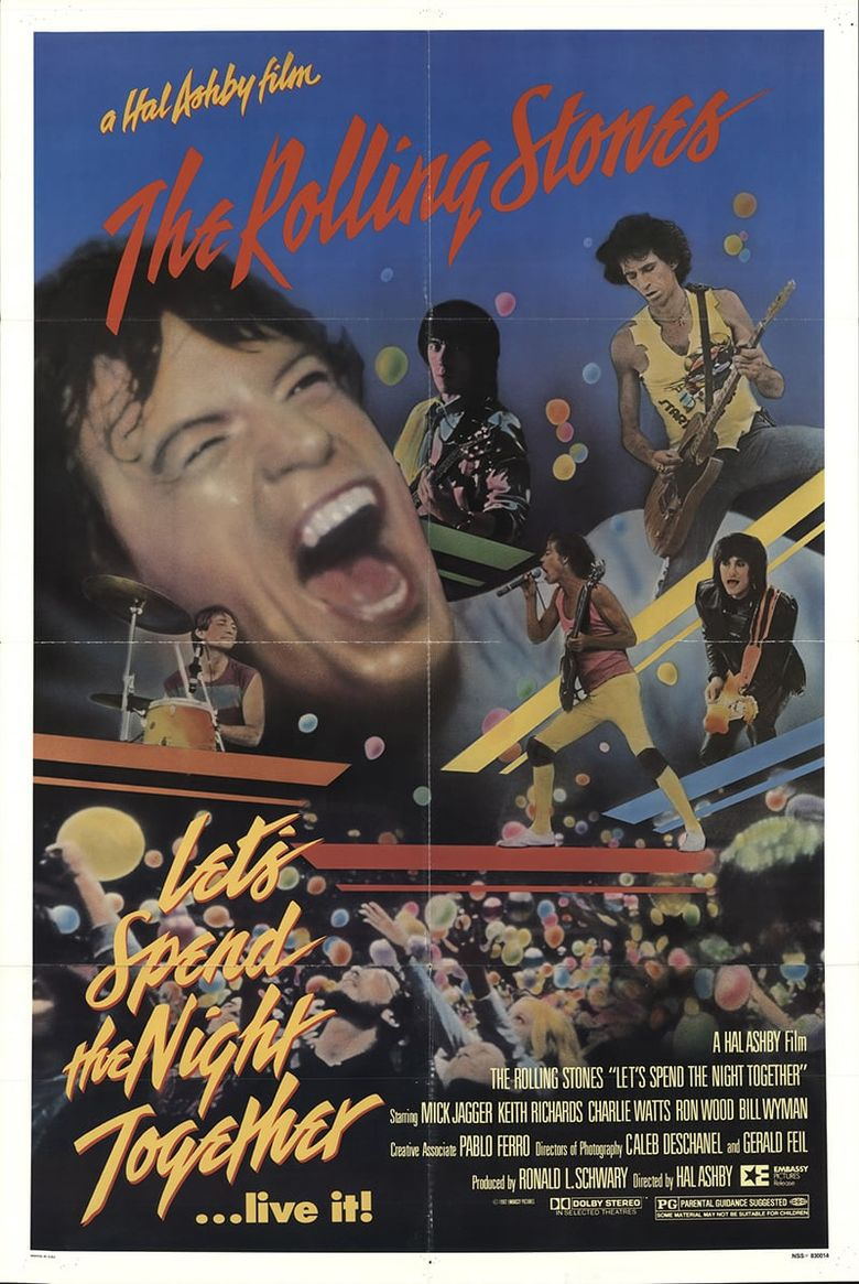 Let's Spend the Night Together Poster